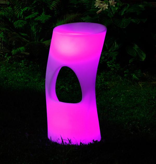 Световой LED барный стул